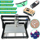 3018 PRO 3 Axis Laser CNC Wood DIY Mill  Engraving Machine Router Offline & GRBL