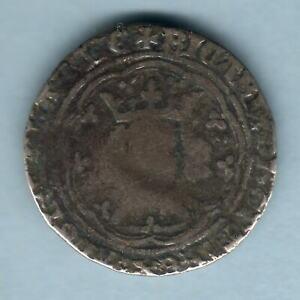 Great Britain.. (1377-99) Richard II - Groat..  London Mint..  VG/F