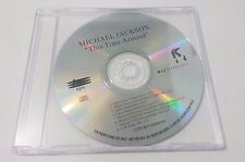 Michael Jackson This Time Around 8trk PROMO Test Press CD- smile bad history jam