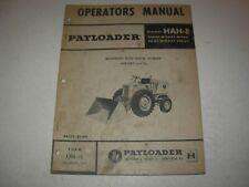 Hough Payloader Hah E Payloader Operators Manual Sn 4 Eb 2301 Up