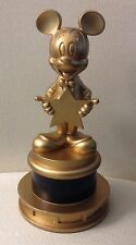 EXTREMELY RARE!  DISNEY GOLDEN MICKEY AWARD STATE MICKEY MOUSE - COLLECTIBLE NEW