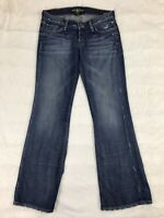 Lucky Brand Womens Jeans Size 4/27 Legend Lil Maggie Distressed Button Fly