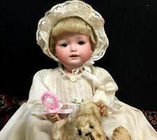 "Bahr & Proschild c.1900 12"" Character Baby Cabinet Doll 604 4 Bisque German Bebe"