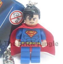 Lego Superman minifig keyring / keychain from Marvel / DC superheroes comics