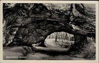 Sächsische Schweiz 50er Jahre DDR Postkarte AK Kuhstall Region Bad Schandau