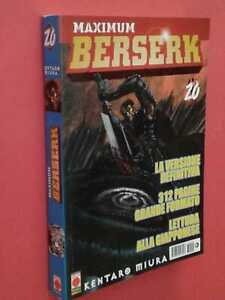 BERSERK MAXIMUM- GIGANTE- N° 20- DI:KENTARO MIURA- MANGA PANINI COMICS