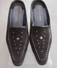 4944f85439af New ListingBELLA VITA CHOCOLATE LEATHER SUEDE MULES OPEN HEEL 3