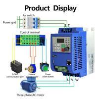 3-phasig 380V 4KW Vektor Frequenzumrichter VFD Inverter Variable Frequency Drive