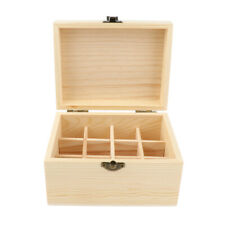 Essential Oil 20ml Bottles Wooden Storage Box Display Case Organizer Holder