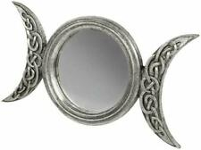 Alchemy England 1977 Triple Moon Mirror Wall Mirror black-white
