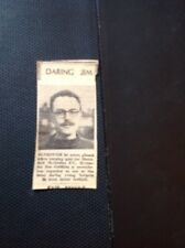m1-5 ephemera 1949 Picture Football Player Jim Griffiths Shernhall Methodist F C