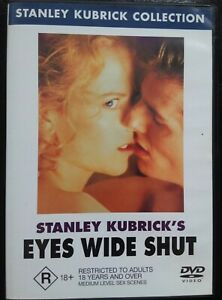 EYES WIDE SHUT Nicole Kidman Tom Cruise STANLEY KUBRICK Region 4 DVD RARE AS NEW