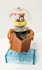 Mega Bloks Spongebob Squarepants Sponge Out Of Water Series 2 Sandy Minifigure