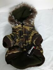 Pet Life 3m Thinsulate Insulation Camouflage Hooded Pet Parka