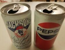 Vintage Pair Of1984 Jackson'S World Tour Empty Pepsi Cans