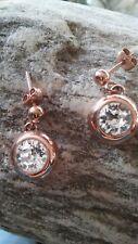 Ohrringe s.oliver silber 925 rose vergoldet Zikonia gross