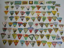 Lot of 90 Old Vintage 1940's - CHEESE LABELS - All Different