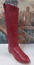 DEXTER VINTAGE LEATHER TALL FLAT HEEL RIDING WOMENS BOOT 6.5M