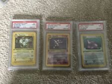 Fossil PSA Pokémon Individual Cards with Holo