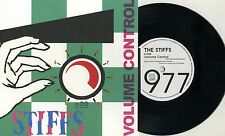 "Stiffs - Volume Control 7"" JAPAN PRESS Long Tall Shorty Fast Cars Powerpop KBD"