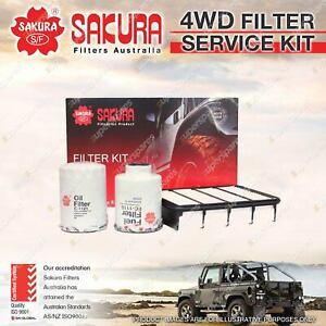Sakura Filter Service Kit for Ford Courier PE PG PH WL 4Cyl 2.5L Turbo Diesel