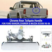 Arrière Poignée de Porte Métal Chrome Pour Ford Ranger / Colis / Mazda B2500