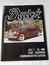 Vintage Buick 85th Anniversary Commemorative Edition Program-1988