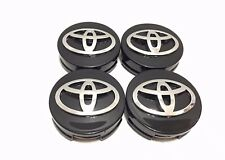 4 pcs, Toyota, 62MM, Black, #42603-12730, Camry, Corolla, Avalon, Matrix,