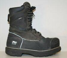 "Timberland PRO Mens 10"" Gravel Pit Mining Boots Sz 10.5 W Steel Toe Waterproof"