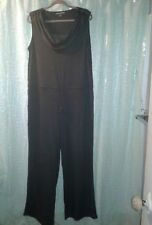 Soft Surroundings Jumpsuit Jumper Gray Long Sleeve Size Large