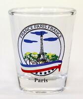 PARIS FRANCE EIFFEL TOWER SHOT GLASS SHOTGLASS