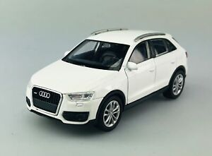 WELLY AUDI Q3 WHITE 1:34 DIE CAST METAL MODEL NEW IN BOX