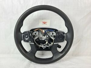 2012 Toyota Camry 4 Spoke Black Steering Wheel W/ Cruise Control OEM