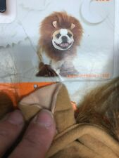 Lion Pet costume dog or cat Small Medium Mane w/ears &cuffs pet clothes S Sm Med