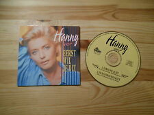 CD Schlager Hanny - Eerst Wil Je Dit (2 Song) DINO MUSIC