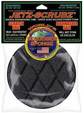 Jetz Scrubz Round Scrubber Kitchen Sponge - Non Scratch - D/W Safe - Lasts Long!