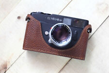 Genuine Leather Half Case for Konica Hexar RF Rangefinder - Brown - BRAND NEW