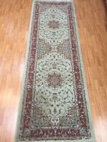 "3'3"" x 10' New Karastan Floor Runner Oriental Rug 100% Wool - Made in USA"