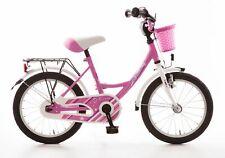 Kinderfahrrad 16 Zoll Fahrrad für Kinder Mädchen Kinderrad Mädchenfahrrad Pink