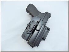 Original Czech Police Service Glock 19 Holster with Automatic Safety Lock - New