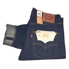 Levi's 501 Shrink to Fit Dry Selvedge Skinny Jeans W34 L30 34268-0005 BNWT