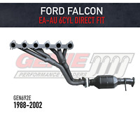 GENIE Performance Headers & Cat for Ford Falcon EA-AU 3.9L & 4.0L - DIRECT FIT