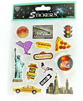 Nicole 14 Stickers Boston Mass Tourism Travel Sightseeing Souvenir Vacation New