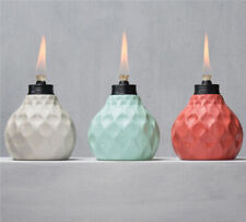 Tiki  Glass  Assorted  6 in. Seaside Escape  Tabletop Torch
