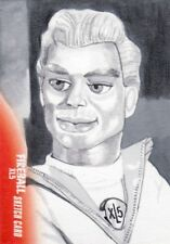 Gerry Anderson's Fireball XL5 Rare Marcia Dye Sketch Card a