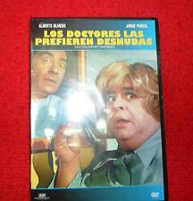Los doctores la prefieren desnudas  MOVIE DVD ALBERTO OLMEDO JORGE PORCEL