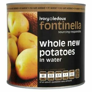 Fontinella Whole New Potatoes in Water 2.5kg (Drained Weight 1.5kg)