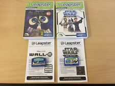 LEAPSTER GAME BUNDLE-STARWARS JEDI MATHS / PIXAR WALL.E  LEARNING GAMES