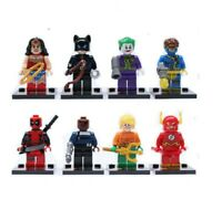 FITS LEGO DC MARVEL SUPER HEROES MINIFIGURES  MINI FIGS FIGS AVENGERS TOY CHILD