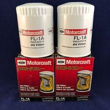 SET OF 2: New OEM Motorcraft Engine Oil Filters FL-1A D9AZ-6731-A FREE PRIORITY